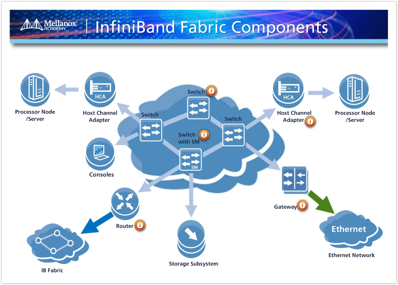 Mellanox Academy IB Fabric Components